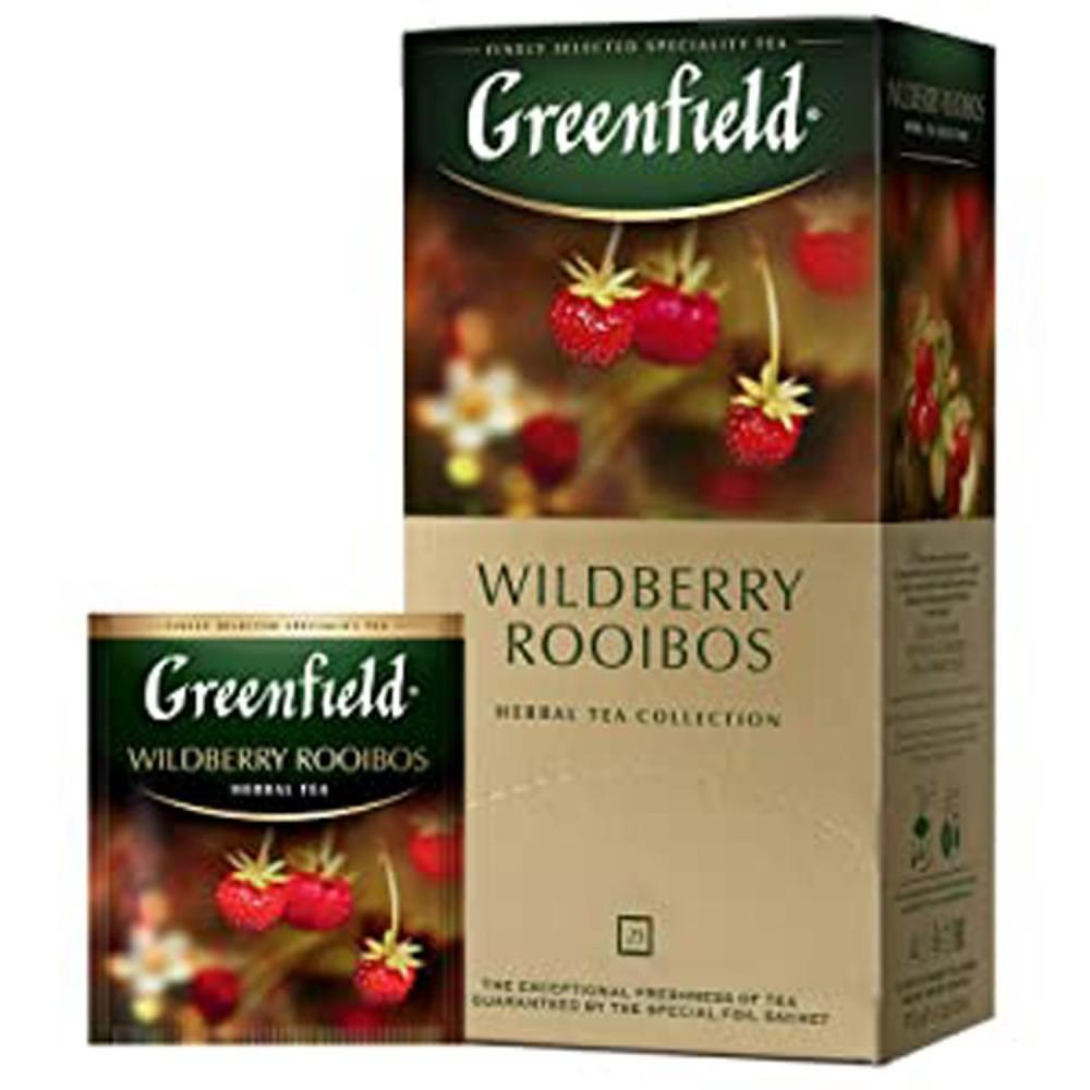 Greenfield Wildberry Rooibos, 25 bolsitas (2g x 25)