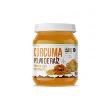 Cúrcuma en Polvo 100Gr, Marca Health Natural