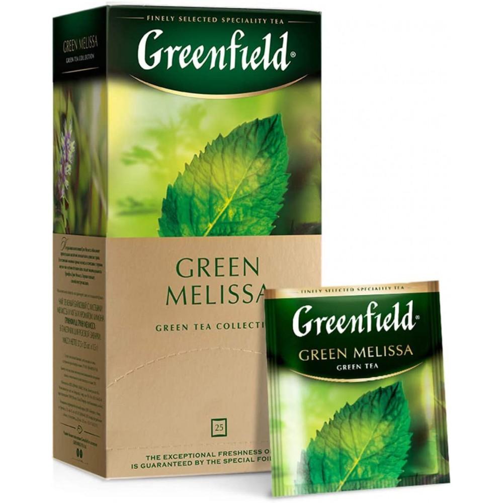 Greenfield Green Melissa, 25 bolsitas (2gx25)